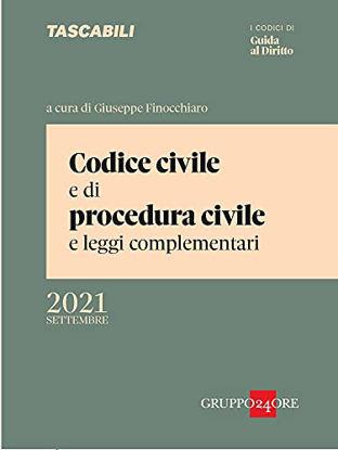Immagine di CODICE CIVILE E DI PROCEDURA CIVILE E LEGGI COMPLEMENTARI.