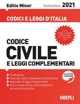 Immagine di CODICE CIVILE E LEGGI COMPLEMENTARI 2021.